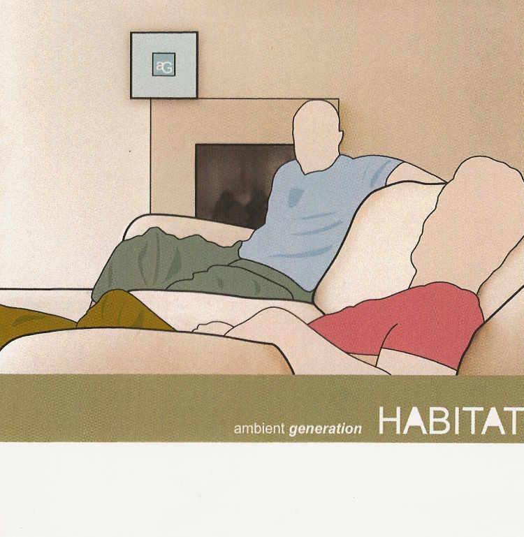 Album cover for Habitat - my first album