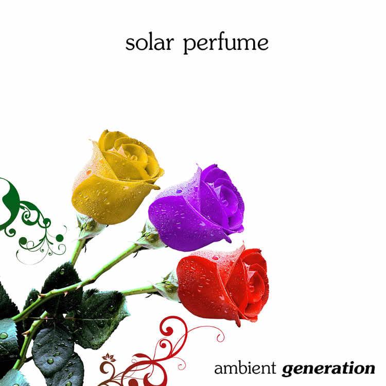 Album cover for Solar Perfume - my fourth album