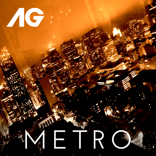 Single cover for Metro - my second single